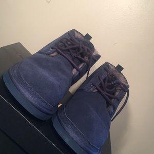 Men's Blue Neumal Ugg Boots Sz:12